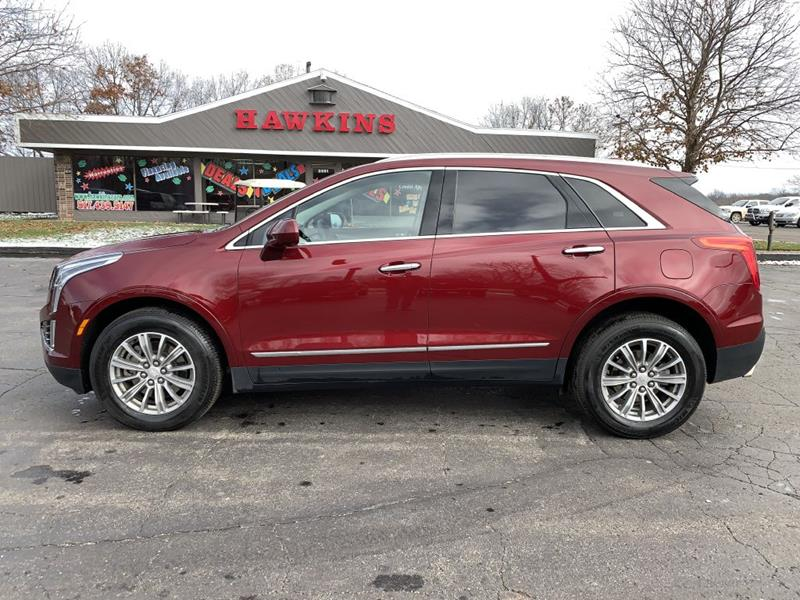 2018 Cadillac Xt5 Luxury In Hillsdale Mi Hawkins Motors Sales