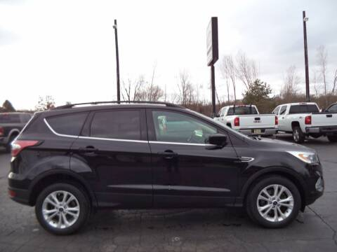 2017 Ford Escape for sale at Hawkins Motors Sales - Lot 1 in Hillside MI