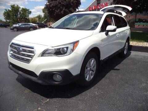 2016 Subaru Outback for sale at Hawkins Motors Sales - Lot 1 in Hillside MI
