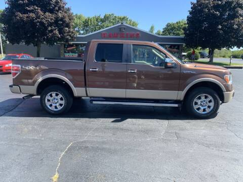 2012 Ford F-150 for sale at Hawkins Motors Sales in Hillsdale MI
