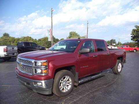 2014 Chevrolet Silverado 1500 for sale at Hawkins Motors Sales - Lot 1 in Hillside MI