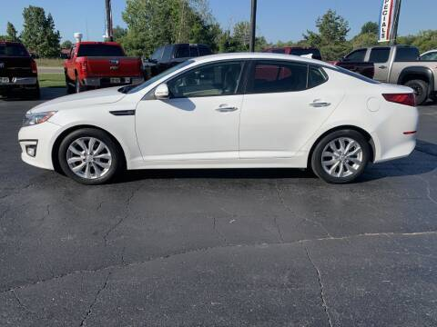 2015 Kia Optima for sale at Hawkins Motors Sales in Hillsdale MI