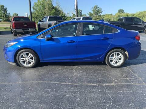 2018 Chevrolet Cruze for sale at Hawkins Motors Sales in Hillsdale MI