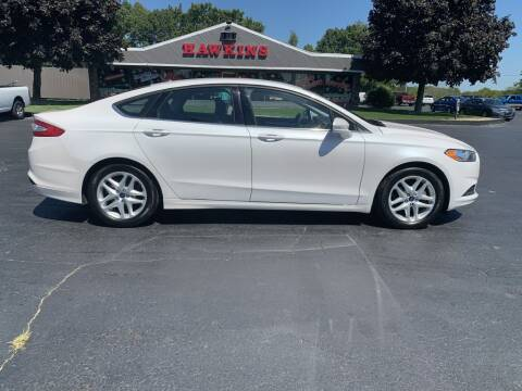 2016 Ford Fusion for sale at Hawkins Motors Sales in Hillsdale MI