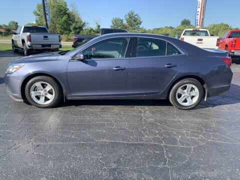 2015 Chevrolet Malibu for sale at Hawkins Motors Sales in Hillsdale MI