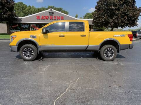 2016 Nissan Titan XD for sale at Hawkins Motors Sales in Hillsdale MI