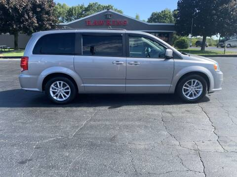 2015 Dodge Grand Caravan for sale at Hawkins Motors Sales in Hillsdale MI