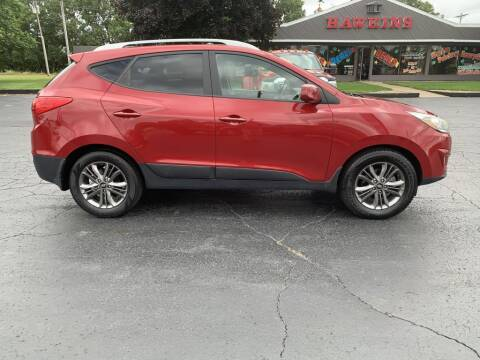 2014 Hyundai Tucson for sale at Hawkins Motors Sales in Hillsdale MI