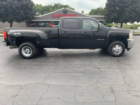 2013 Chevrolet Silverado 3500HD for sale at Hawkins Motors Sales in Hillsdale MI