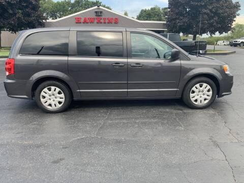 2017 Dodge Grand Caravan for sale at Hawkins Motors Sales in Hillsdale MI