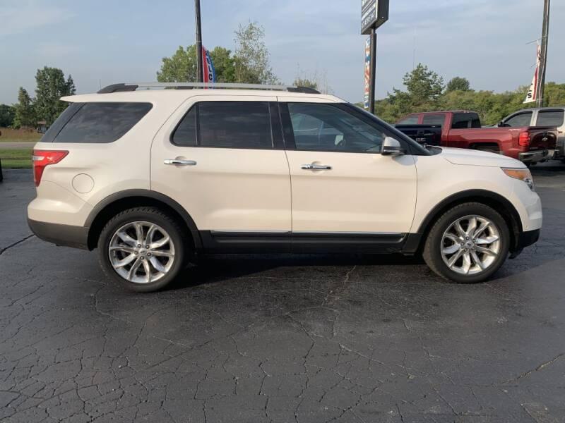 2014 Ford Explorer for sale at Hawkins Motors Sales in Hillsdale MI