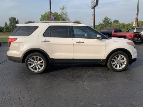 2014 Ford Explorer for sale at Hawkins Motors Sales in Hillsdale MI