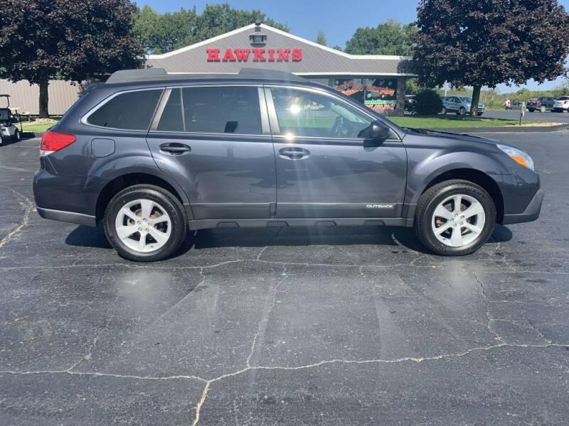 2013 Subaru Outback for sale at Hawkins Motors Sales in Hillsdale MI