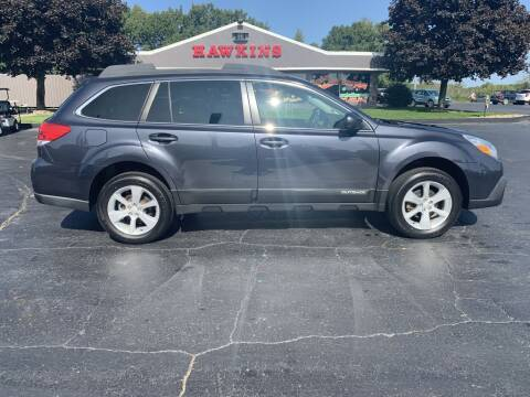 2013 Subaru Outback for sale at Hawkins Motors Sales in Hillsdale MI