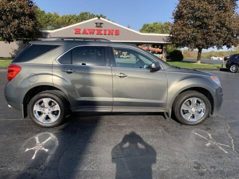 2012 Chevrolet Equinox for sale at Hawkins Motors Sales in Hillsdale MI