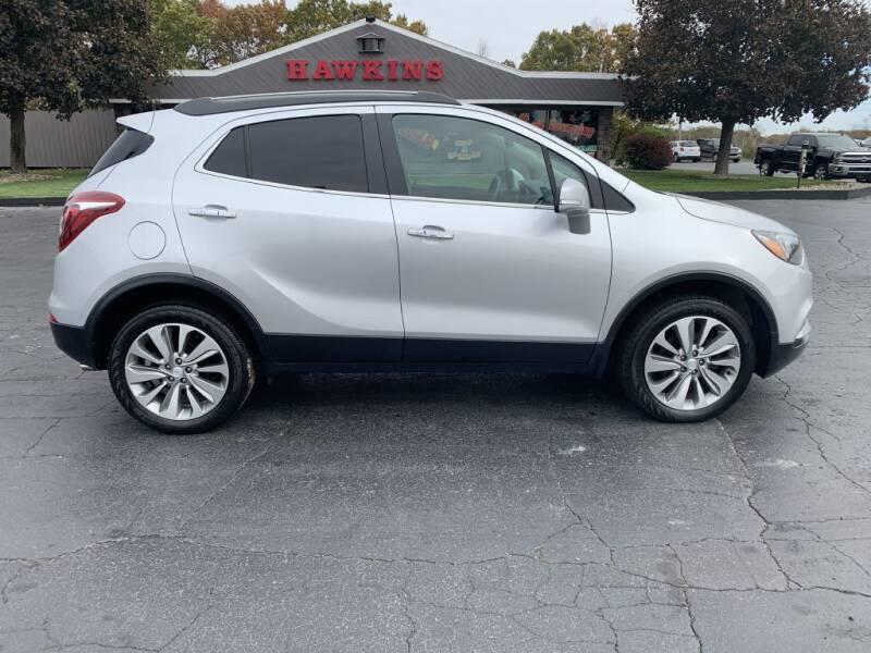 2017 Buick Encore for sale at Hawkins Motors Sales in Hillsdale MI