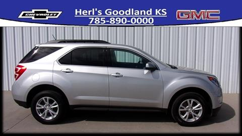 2016 Chevrolet Equinox for sale in Goodland, KS