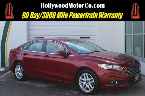 Ford Fusion For Sale In Saint Louis Mo