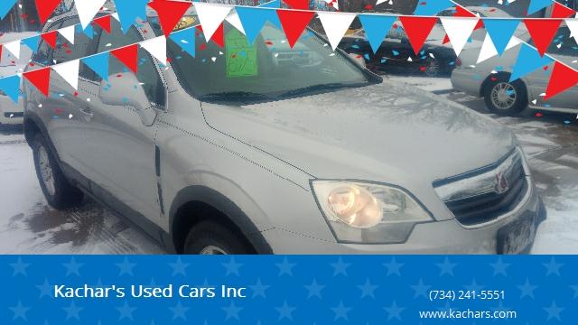 2008 Saturn Vue XE 4dr SUV In Monroe MI - Kachar's Used Cars Inc