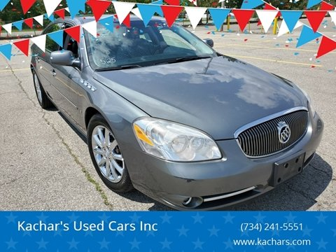 2008 Buick Lucerne CXS for sale at Kachar's Used Cars Inc in Monroe MI
