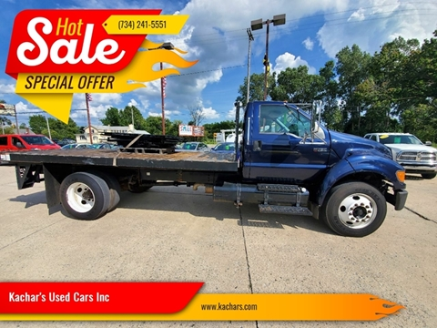2007 Ford F-750 Super Duty for sale in Monroe, MI