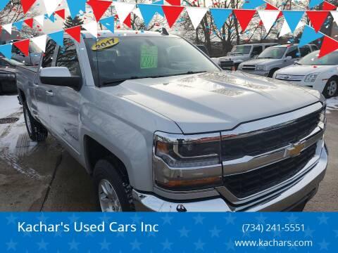 2017 Chevrolet Silverado 1500 LT for sale at Kachar's Used Cars Inc in Monroe MI