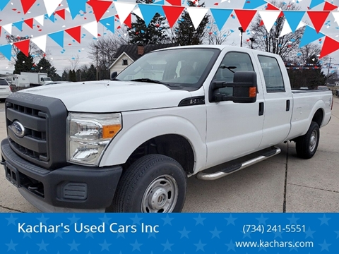 2011 Ford F-350 Super Duty XL for sale at Kachar's Used Cars Inc in Monroe MI