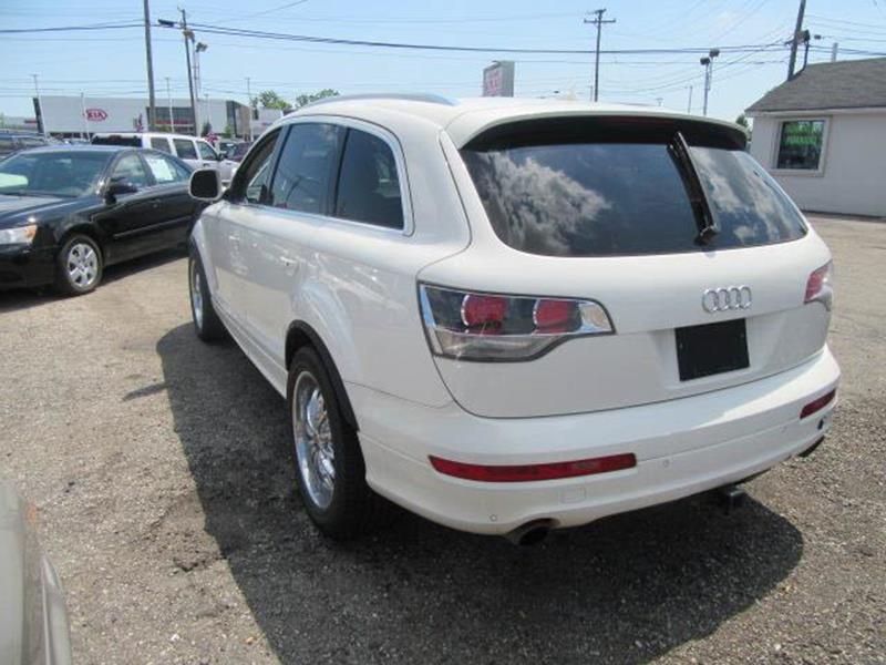 2008 Audi Q7 AWD 4.2 Premium quattro 4dr SUV w/S Line Package - Clinton Township MI