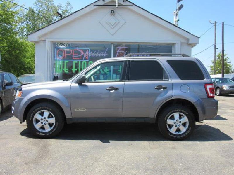 2008 Ford Escape XLS 4dr SUV (2.3L I4 4A) - Clinton Township MI