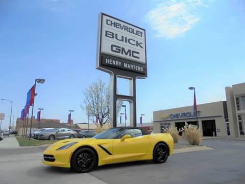 2017 Chevrolet Corvette for sale in Leavenworth, KS