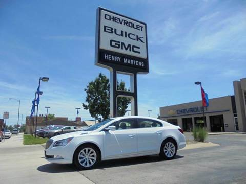2016 Buick LaCrosse for sale in Leavenworth KS