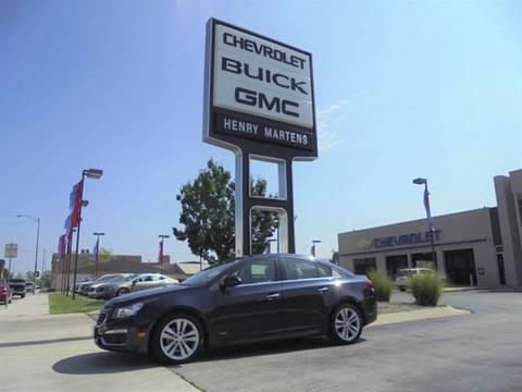 2015 Chevrolet Cruze for sale in Leavenworth KS