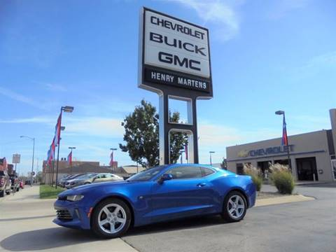 2018 Chevrolet Camaro for sale in Leavenworth, KS