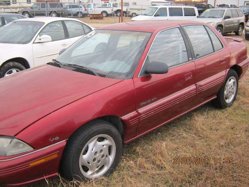 1995 Pontiac Grand Am SE 4dr Sedan - Meriden KS