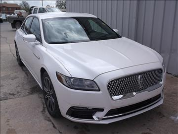 2017 Lincoln Continental for sale in Chanute, KS