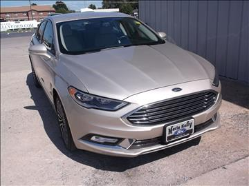 2017 Ford Fusion for sale in Chanute, KS