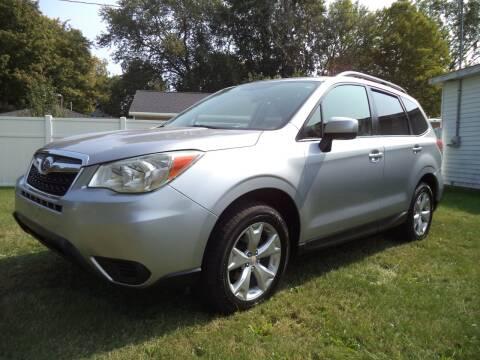 2015 Subaru Forester for sale at Niewiek Auto Sales in Grand Rapids MI
