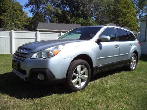 2013 Subaru Outback for sale at Niewiek Auto Sales in Grand Rapids MI
