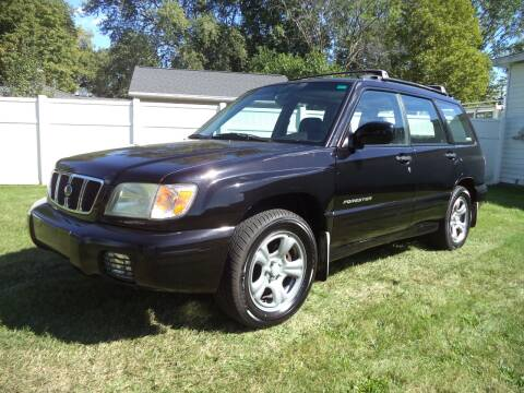 2002 Subaru Forester for sale at Niewiek Auto Sales in Grand Rapids MI