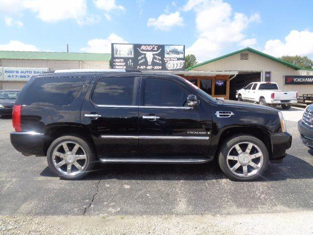 2007 Cadillac Escalade for sale at Rod's Auto Farm & Ranch in Houston MO
