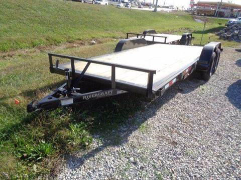 2018 Rivercraft 16' with 2' Dove Car Hauler for sale at Rod's Auto Sales in Houston MO