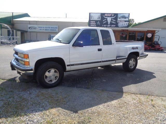 1996 Chevrolet C K 1500 Series 2dr K1500 Silverado 4wd