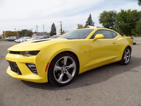 2016 Chevrolet Camaro for sale at Ryan Auto Sales in Warren MI