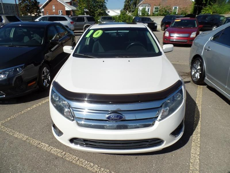 2010 Ford Fusion Detroit Used Car for Sale