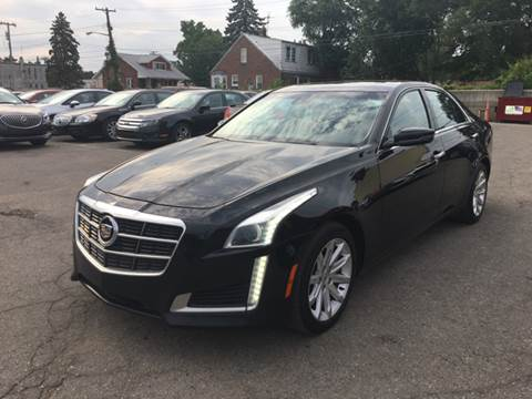 2014 Cadillac CTS for sale at Ryan Auto Sales in Warren MI