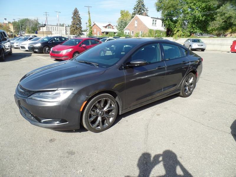2015 Chrysler 200 for sale at Ryan Auto Sales in Warren MI