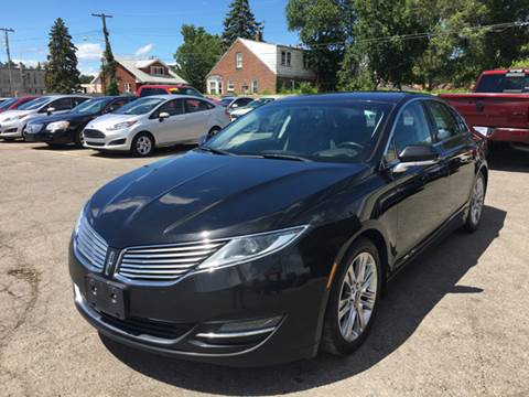 2013 Lincoln MKZ for sale at Ryan Auto Sales in Warren MI