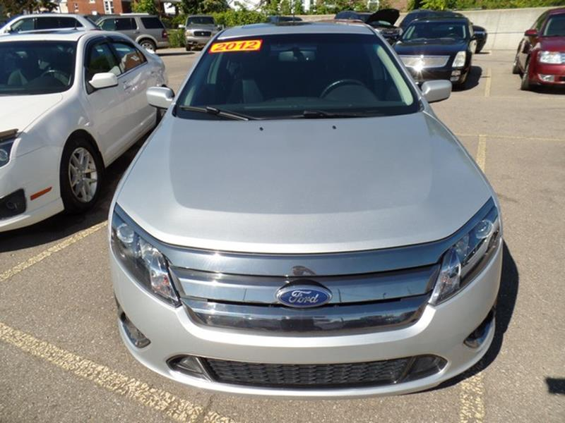 2012 Ford Fusion for sale at Ryan Auto Sales in Warren MI