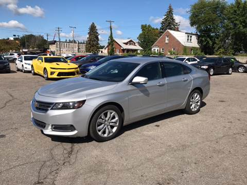 2017 Chevrolet Impala for sale at Ryan Auto Sales in Warren MI