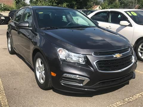 2015 Chevrolet Cruze for sale at Ryan Auto Sales in Warren MI